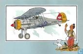 """Bandes dessinées - Kuifjesbon producten - Chromo's """"Vliegtuigen '39-'45"""" 1"""
