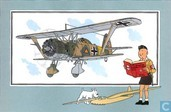 """Strips - Kuifjesbon producten - Chromo's """"Vliegtuigen '39-'45"""" 2"""