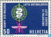 Briefmarken - Schweiz [CHE] - Malaria Control