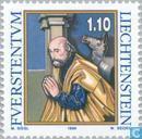 Postzegels - Liechtenstein - Houtsnedes