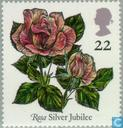 Postage Stamps - Great Britain [GBR] - Roses