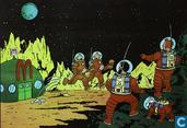 Affiches et posters - Bandes dessinées - McDonalds - Mannen op de Maan