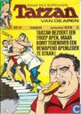 Strips - Tarzan - Tarzan bezoekt een troep apen, maar komt tegenover een bewapend apenleger te staan !