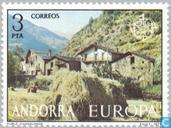Postage Stamps - Andorra - Spanish - Europe – Landscapes