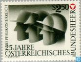 Postage Stamps - Austria [AUT] - Army 25 years