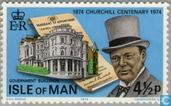 Postage Stamps - Man - Sir Winston Churchill