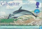 Postzegels - Gibraltar - Int. Jaar van de Oceaan