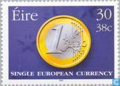 Postage Stamps - Ireland - Introduction of the euro