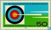 Briefmarken - Berlin - Bogenschießen-Weltmeisterschaft