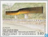 Postage Stamps - Andorra - French - Europe – Contemporary art