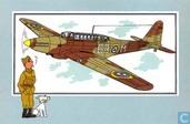 """Strips - Kuifjesbon producten - Chromo's """"Vliegtuigen '39-'45"""" 5"""