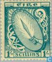 Postage Stamps - Ireland - Irish symbols