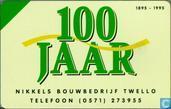 Nikkels Bouwbedrijf 100 jaar 1895 - 1995