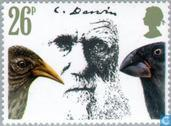 Postage Stamps - Great Britain [GBR] - Darwin, Charles 1809-1882