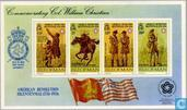 Postage Stamps - Man - USA-Revolution