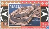 Postzegels - Malta - Malteser orde 900 jaar