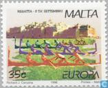 Postage Stamps - Malta - Europe – Festivals and national Celebrations