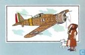 """Strips - Kuifjesbon producten - Chromo's """"Vliegtuigen '39-'45"""" 9"""