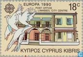 Timbres-poste - Chypre [CYP] - Europe – Bâtiments postaux