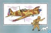 """Strips - Kuifjesbon producten - Chromo's """"Vliegtuigen '39-'45"""" 10"""