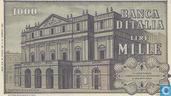 Banknoten  - Banca d´Italia - Italien 1000 Lire
