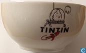 Keramiek - Kuifje - Tintin sur la Lune : kom (Raket naar de Maan)
