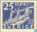 300 years Swedish Post