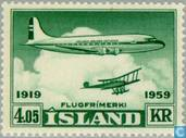 Postage Stamps - Iceland - 405 green