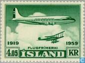 Postzegels - IJsland - 405 groen