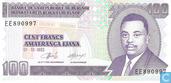 Burundi 100 Francs 1993