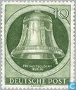 Postage Stamps - Berlin - Bell of Freedom, clapper right