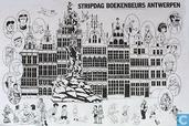 Poster - Comic books - Stripdag Boekenbeurs Antwerpen