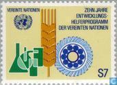 Timbres-poste - Nations unies - Vienne - Développement