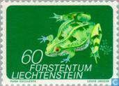 Briefmarken - Liechtenstein - Tiere