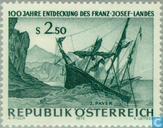 Timbres-poste - Autriche [AUT] - Découverte des terres Franz-Joseph 100 années