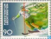 Postage Stamps - Liechtenstein - Olympic Games- Nagano