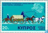 Timbres-poste - Chypre [CYP] - UPU 100j
