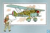 """Strips - Kuifjesbon producten - Chromo's """"Vliegtuigen '39-'45"""" 14"""