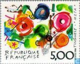 Postage Stamps - France [FRA] - Painting Jean Tinguely