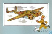 "Comics - Kuifjesbon producten - Chromo's ""Vliegtuigen '39-'45"" 15"