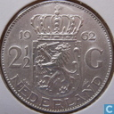 Coins - the Netherlands - Netherlands 2½ gulden 1962