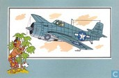 """Bandes dessinées - Kuifjesbon producten - Chromo's """"Vliegtuigen '39-'45"""" 16"""