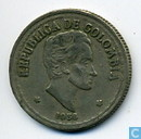 Coins - Colombia - Columbia 20 centavos 1956