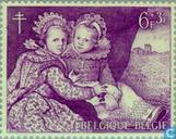 Postzegels - België [BEL] - Belgische schilders