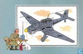 """Bandes dessinées - Kuifjesbon producten - Chromo's """"Vliegtuigen '39-'45"""" 17"""