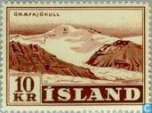 Timbres-poste - Islande - Paysages