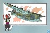 """Strips - Kuifjesbon producten - Chromo's """"Vliegtuigen '39-'45"""" 18"""