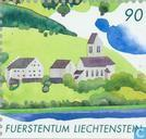 Postage Stamps - Liechtenstein - Liechtensteiner lowlands 2000 years