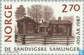 Briefmarken - Norwegen - Sandvig Collection