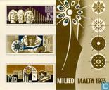 Postage Stamps - Malta - Christmas